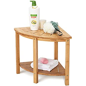 Amazon Com The Original Kai 15 5 Corner Teak Shower Bench With