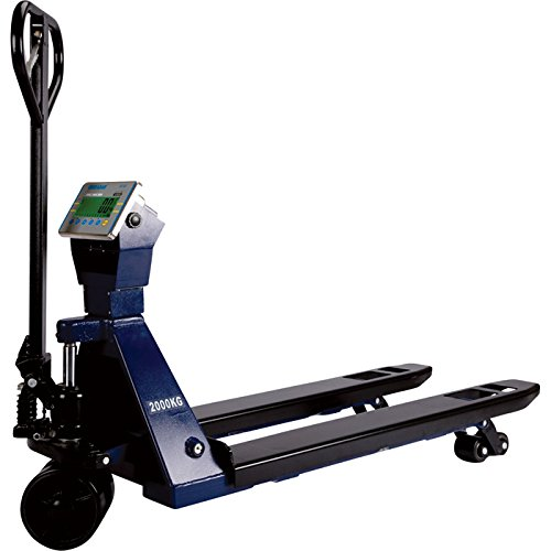 Adam Equipment Pallet Truck with Electronic Scale - 5000-Lb. Capacity, Model# PTS 5000A + AE402