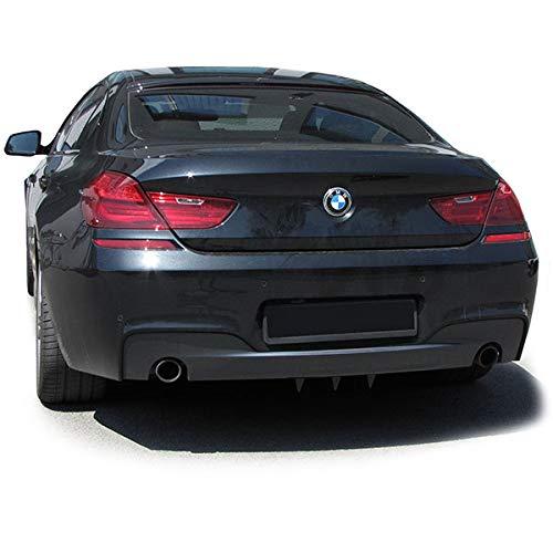Tenzo-R 33812 Universal Heck Diffusor f/ür Sto/ßstange hinten mit 3 Finnen Carbon Optik