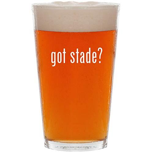 2004 Easel Desk Calendar - got stade? - 16oz All Purpose Pint Beer Glass