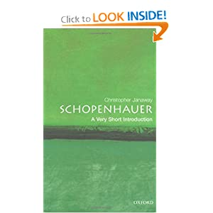 Schopenhauer: A Very Short Introduction Christopher Janaway