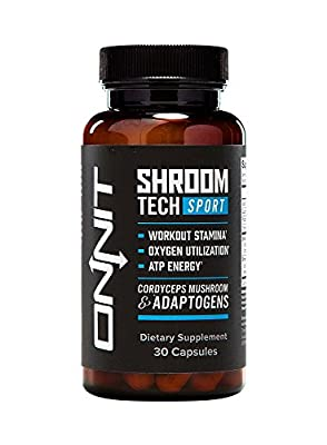 Onnit Shroom TECH Sport Clean ATP energy. Better oxygen utilization. Faster recovery by Onnit Labs - 30 capsules