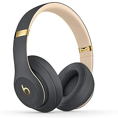 Beats Studio3 Wireless Noise Cancelling Over-Ear Headphones - Apple W1 Headphone Chip, Class 1 Bluetooth, 22 Hours of Listening Time, Built-in Microphone - Shadow Gray (Latest Model)