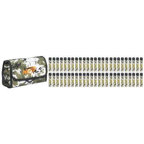 Nerf N-Strike Ammo Bag Kit - White with Camouflage