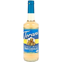 Torani Sugar Free White Chocolate Syrup With Splenda, 750 Ml
