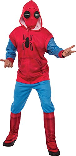 Homemade Costumes For Fancy Dress (Rubie's Spider-Man: Homecoming Adult Deluxe Homemade Suit Costume, Standard)