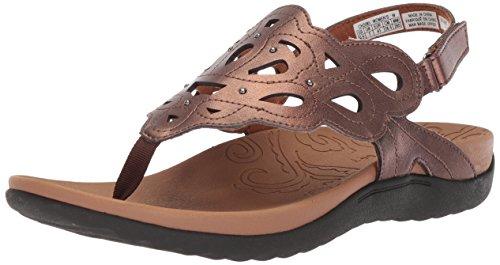 ge Sling Sandal, Antique Bronze, 7 W US ()