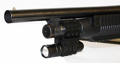 Tactical 150 Lumen Flashlight With Mount Fits 12 gauge maverick 88 pump shotgun