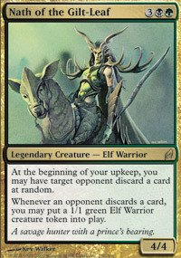 Magic: the Gathering - Nath of the Gilt-Leaf - Lorwyn - Foil