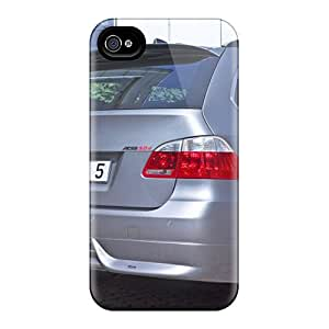 Premium Silver Ac Schnitzer Bmw Acs5 Touring Rear Section Heavy-duty Protection Case For Iphone 4/4s