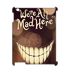YUAHS(TM) Custom 3D Cover Case for Ipad 2,3,4 with We're All Mad Here YAS146667