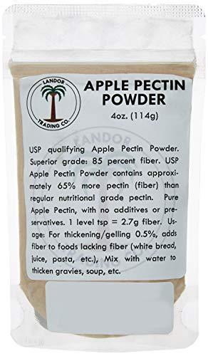 - Apple Pectin 4oz (USP Qualified) (114 grams)