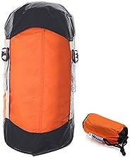 Negaor Ultralight Compression Stuff Sack Sleeping Bag Compression Sack Drawstring Bag Organizer 10L / 15L / 20