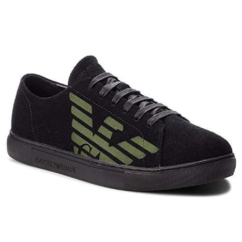 Emporio Armani Sneakers Uomo Black N 41