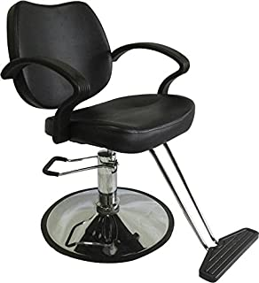 Classic Hydraulic Styling Barber Chair Salon Equipment Hair Beauty Supply  DS/SC3001 BLACK