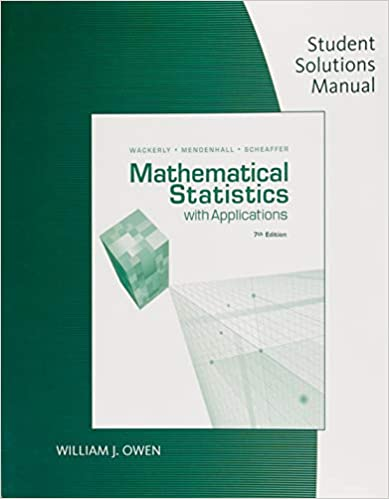 Amazon com: Student Solution Manual for Mathematical Statistics With