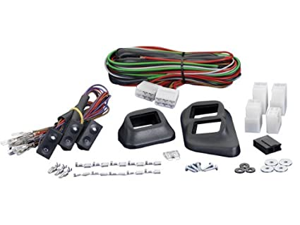 amazon com spal 33040188 euro style universal 3 switch kit automotive 5 Pin Power Window Wiring Diagram