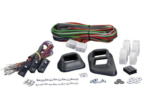 Spal Power Window Kit (Spal 33040188 Euro Style Universal 3-Switch Kit)