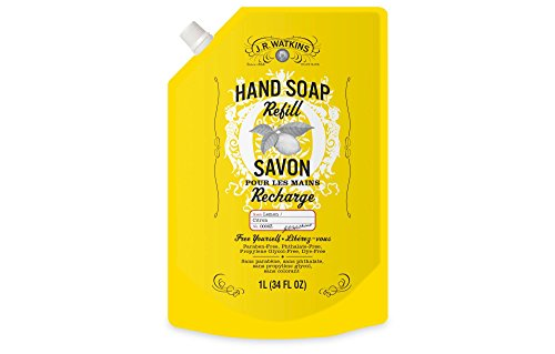 J.R. Watkins Lemon Liquid Hand Refill 34 fl oz , pack of 1