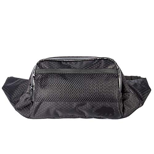 Cali Crusher 100% Smell Proof Fanny Pack w/Combo Lock (Black)
