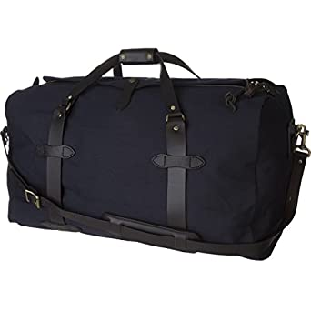 Amazon.com | Filson Medium Duffel Bag - Navy | Travel Duffels