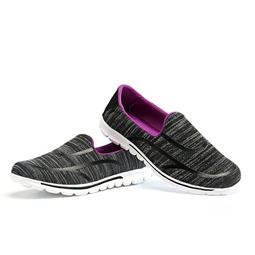 VIGSHOENIA Women Casual Walking Shoes Slip-on Sneakers Lightweight Performance Shoes