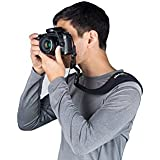Think Ergo Utility Strap - Quick-Release Multipurpose Neoprene Sling Strap for DSLR or Compact Camera, Binoculars, Bino, Bag, and More. Padded Replacement Shoulder Strap for Bag