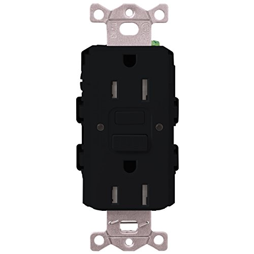 Lutron  SCR-20-GFST-MN  20-Amp  Tamper Resistant Self-Testing Receptacle, Midnight -  Lutron Electronics Company, Inc.
