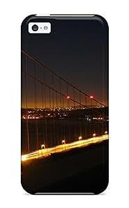 TYH - High Grade Michael paytosh Flexible Tpu Case For Iphone 5c - Golden Gate Bridge phone case