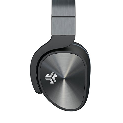 JLab Audio Flex Studio DJ Style Headphones with Metal Build, Guaranteed for Life, Carrying case and Folding for Easy Travel. ()