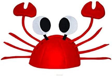 パーティー グッズ かぶりもの カニ ザリガニ 赤 キャップ 帽子 宴会 パーティー 二次会 送別 歓迎 会 仮装 衣装 コスプ