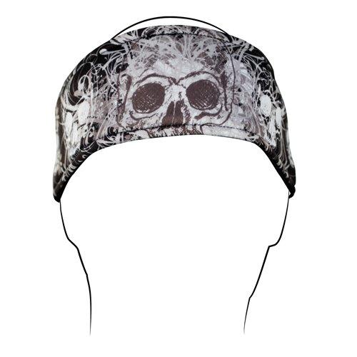 Zanheadgear Davinci Skull Headband ()