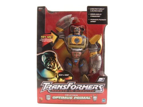 Transformers Robots in Disguise RID Beast War Air Attack Optimus Prime Primal Supreme Gorilla 12