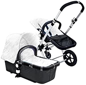 Amazon.com : Bugaboo Cameleon Base Stroller, Dark Grey