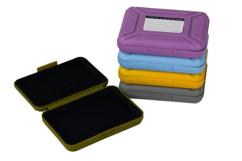 ORICO PHX-35 Professional Premium Anti-Static Hard Drive Protection Box for 3.5 Inch HDD Storage Grey/Purple/Yellow/Blue/Green (Purple), Best Gadgets