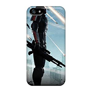 Tpu Case Cover For Iphone 5/5s Strong Protect Case - Falling Reapers Design Kimberly Kurzendoerfer