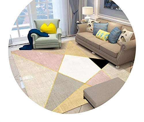 Nordic Geometric Carpets for Living Room Home Decorative Bedroom Rugs Sofa Coffee Table Floor Mat Customized Rectangle Carpet,SD-M018,40X60CM