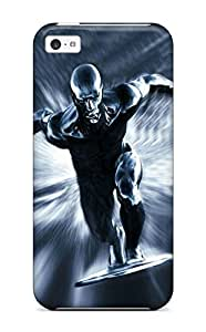 Brooke C. Hayes's Shop Christmas Gifts 3757967K10298792 Quality Case Cover With Silver Surfer Nice Appearance Compatible With Iphone 5c WANGJING JINDA