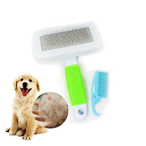 - Aolvo Pet Grooming Tool Kit Effectively Solves The Excess Shedding Hair, Comfortable Massage And Easy Removal, Suitable For Large And Small Cats, Dogs, Long Hair And Short Hair