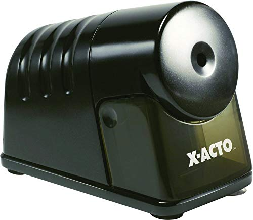 X-ACTO Powerhouse Electric Sharpener, Black (1799) (Renewed)