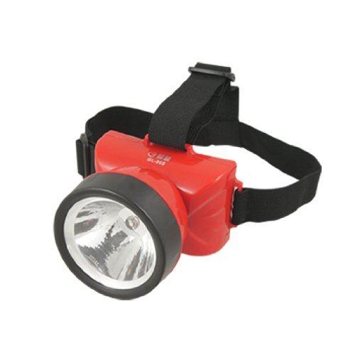 Proiettori a LED eDealMax Rosso 2 Modalità ruotabile ricaricabile US Plug AC110 / 220V