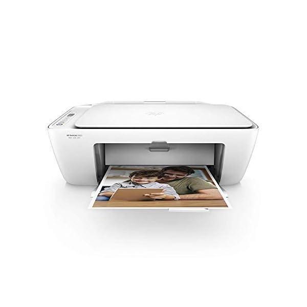 HP Deskjet 2630 – Impresora Multifunción Inalámbrica Color Blanco y Azul + SanDisk Ultra - Tarjeta de Memoria microSDXC… 2