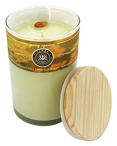 - Spring Equinox Soy Essential Blend Candle 12 Oz Burns Approx. 30+ Hours
