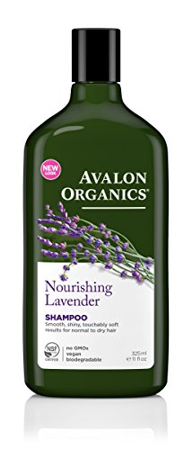 Avalon Organics Shampoo, Nourishing Lavender, 11 Fluid Ounce