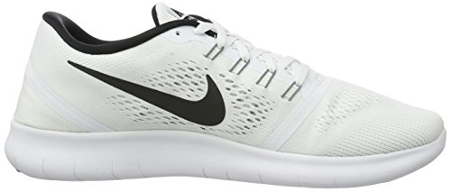 831509 Donna white Bianco Run Free Black Nike Scarpe Running EWBnHgq1