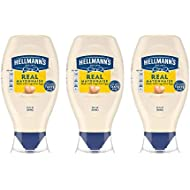 Hellmann's Real Mayonnaise, Squeeze, 20 oz, 3 count
