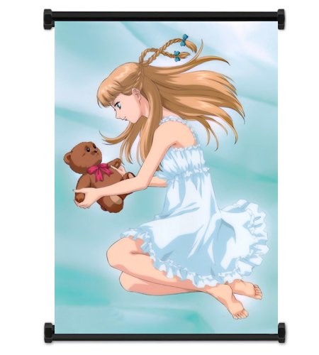 Mobile Suit Gundam Wing Anime Relena Peacecraft Fabric Wall