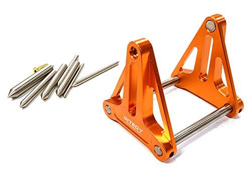 Integy RC Model Hop-ups C26407ORANGE Magnetic Prop. Balancer for RC Boat w/Shaft Size 1/8, 3/16, 1/4, 2, 3, 4 & 5mm