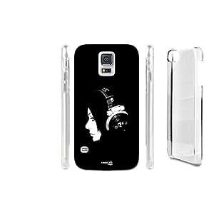 FUNDA CARCASA RAGAZZA MUSICA PARA SAMSUNG GALAXY S5 G900D LTE DUAL