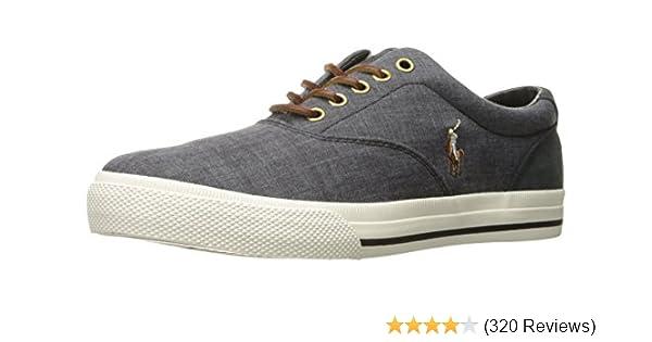 Amazon.com | Polo Ralph Lauren Men\u0027s Vaughn Lace-Up Sneaker | Fashion  Sneakers